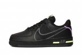 Tenisufki.eu Nike Air Force 1 '07 'Black & White'